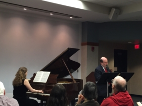Chester Brezniak, Wellesley Library, March 29th 2015